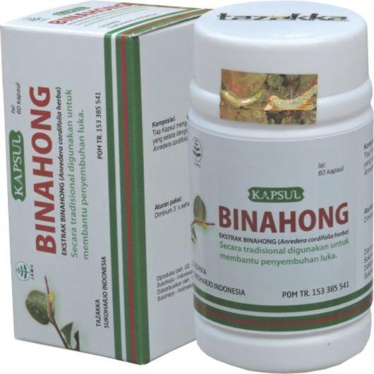 foto gambar produk kapsul herbal binahong