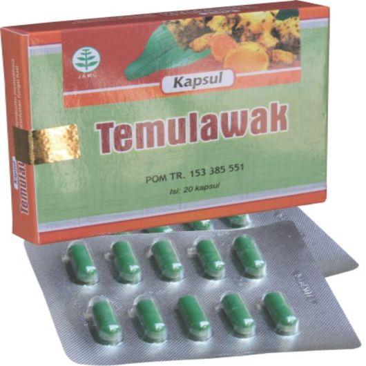Temulawak (Memelihara Kesehatan Fungsi Hati).