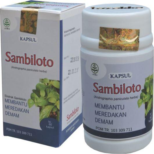 foto gambar produk herbal tazakka herbal sukoharjo manfaat tanaman sambiloto obat untuk kesehatan obat demam alami kemasan kapsul botol
