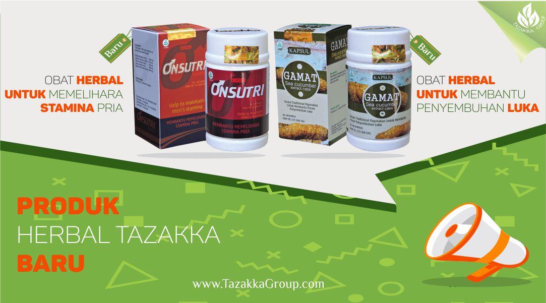 foto gambar promosi produk baru herbal sukoharjo tazakka onsutri formen untuk membanti memelihara stamina pria dan gamat ekstrak teripang emas sea cucumber untuk membantu proses penyembuhan luka