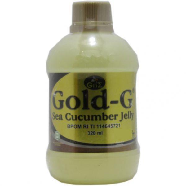 contoh foto gambar produk herbal tazakka sukoharjo GAMAT GOLD G jelli sea cucumber ekstrak teripang emas untuk obat luka