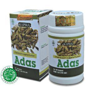 kapsul herbal biji adas tazakka obat untuk perut kembung dan lambung