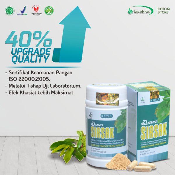 Annona muricata capsule extract daun sirsak