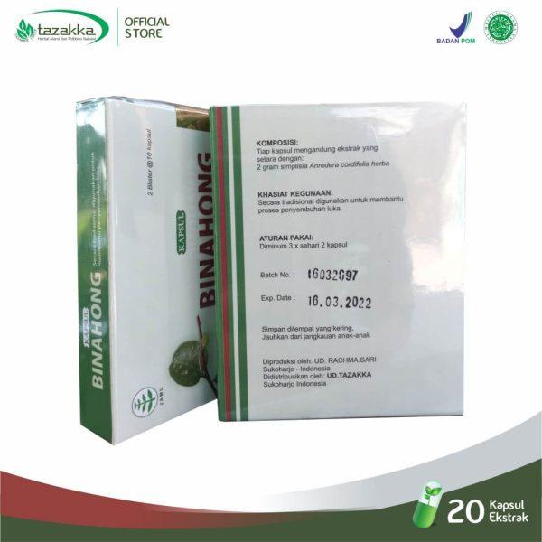 Anredera cordifolia herba Binahong Blister Capsule