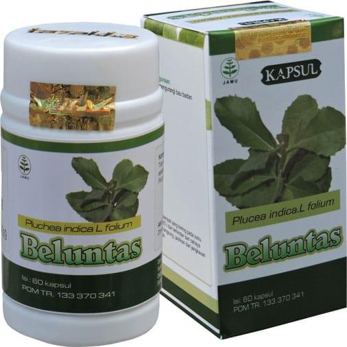contoh foto gambar katalog produk Obat herbal bau badan dan bau mulut tidak sedap dari herbal beluntas sukoharjo tazakka group alami aman berkhasiat