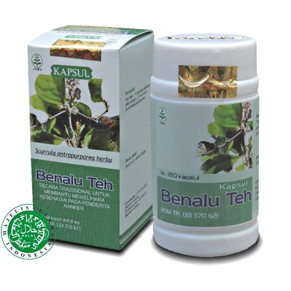 Kapsul herbal Benalu Teh Untuk kanker dan darah lancar