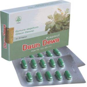 foto gambar produk herbal daun dewa kemasan kapsul blister tazakka herbal sukoharjo