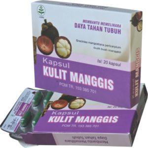foto gambar produk herbal kapsul kulit manggis kemasan blister