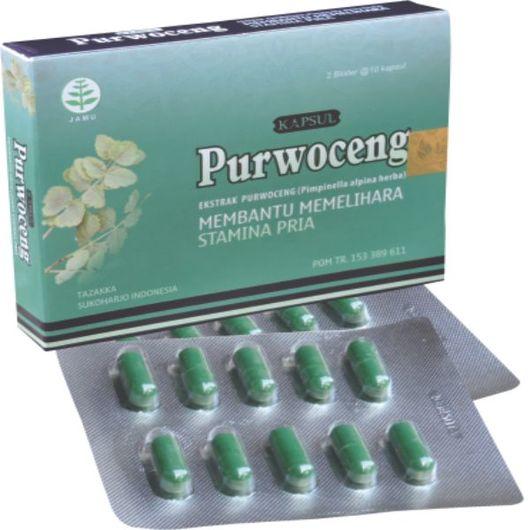 foto gambar produk herbal purwoceng tazakka herbal sukoharjo kemasan blister kapsul