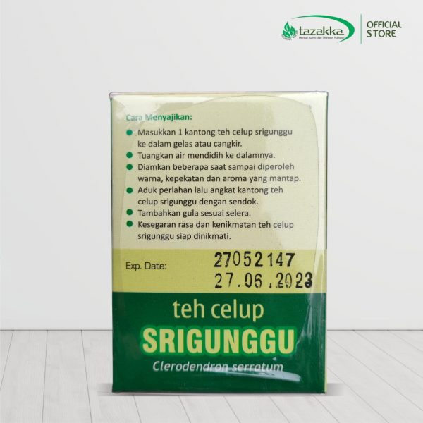 Clerodendron serratum herba tea Srigunggu