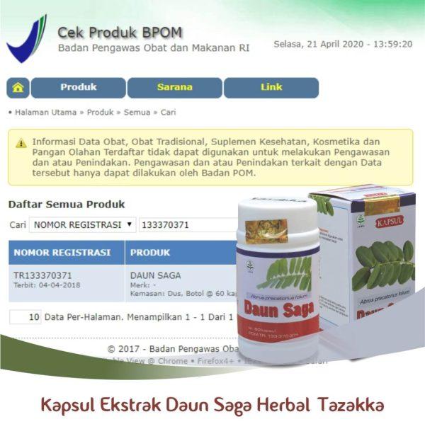 Daun Saga Original BPOM