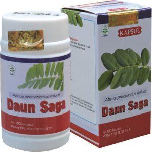 obat sariawan paling ampuh kapsul ekstrak daun saga tazakka