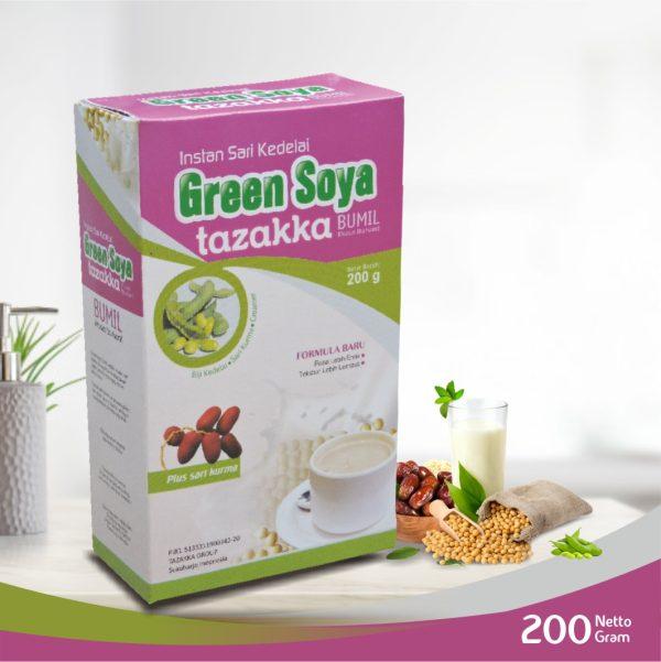 GREEN SOYA Ibu Hamil Bumil Susu Kedelai Tazakka