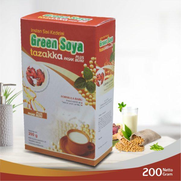 GREEN SOYA herbal Tazakka plus pasak bumi