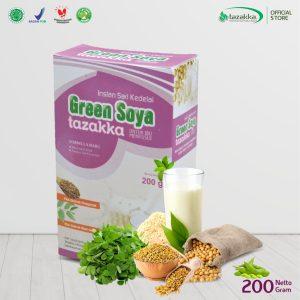 GREEN SOYA susu sari kedelai instant herbal Tazakka IBU MENYUSUI