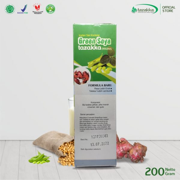 GREEN SOYA tazakka original