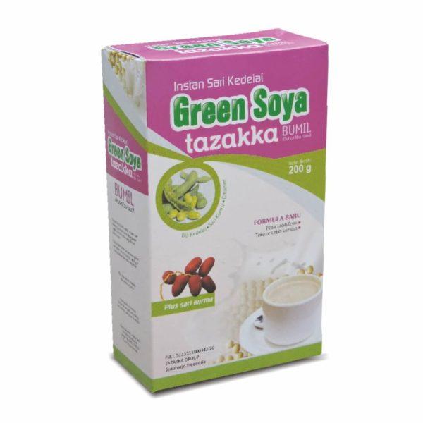 Green Soya Instant Susu Bubuk Sari Kedelai Bumil Herbal Tazakka