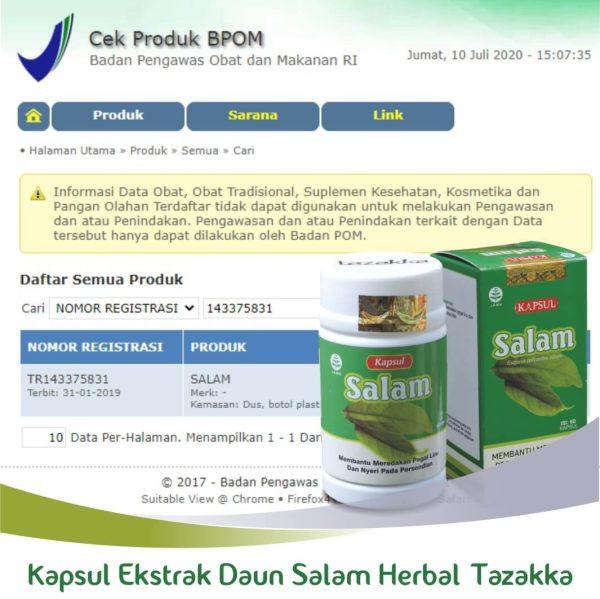 HERBAL DAUN SALAM ORIGINAL BPOM