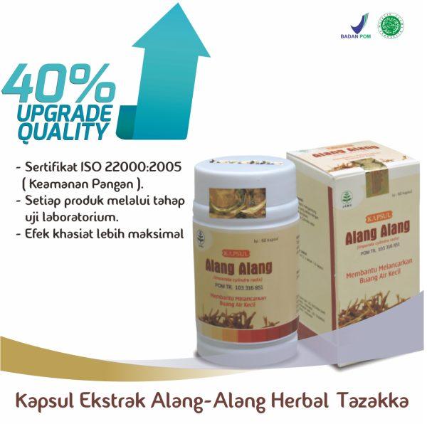 Harga Kapsul Alang - Alang Herbal Tazakka