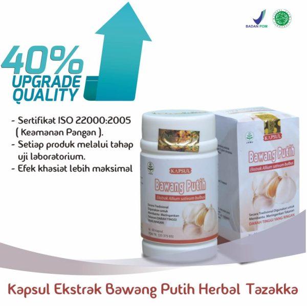 Harga Kapsul Bawang Putih Herbal Tazakka