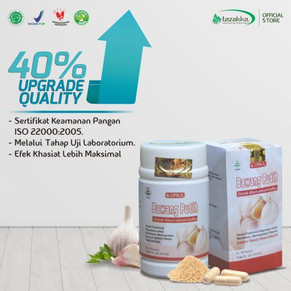 Harga Kapsul Bawang Putih Herbal Tazakka Premium quality