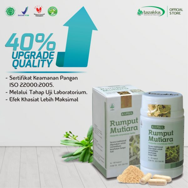 Harga Kapsul Rumput Mutiara Herbal Tazakka