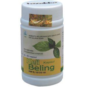 foto gambar produk herbal tazakka herbal sukoharjo manfaat tanaman keji beling kemasam kapsul botol