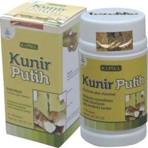 foto gambar produk herbal kunir putih tazakka herbal sukoharjo kemasan kapsul botol
