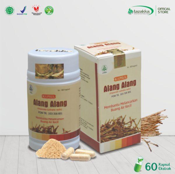 Kapsul Alang - Alang Herbal Tazakka