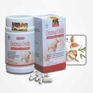 Jual Kapsul Bawang Putih Herbal Tazakka Obat Kolesterol