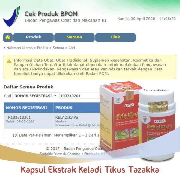 Keladi Tikus Original Halal BPOM