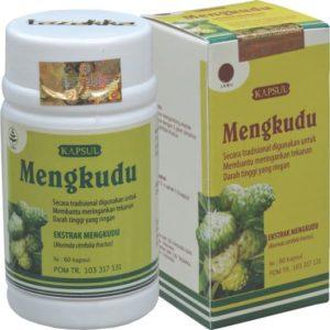 foto gambar produk herbal tazakka herbal sukoharjo manfaat tanaman mengkudu kemasam kapsul botol