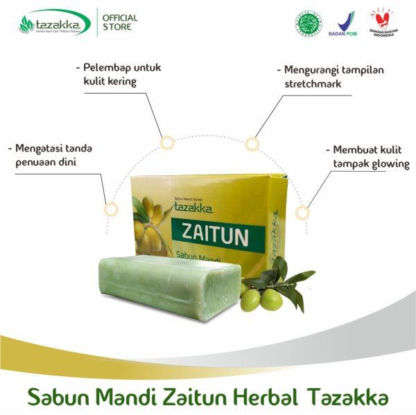 Manfaat Sabun Zaitun