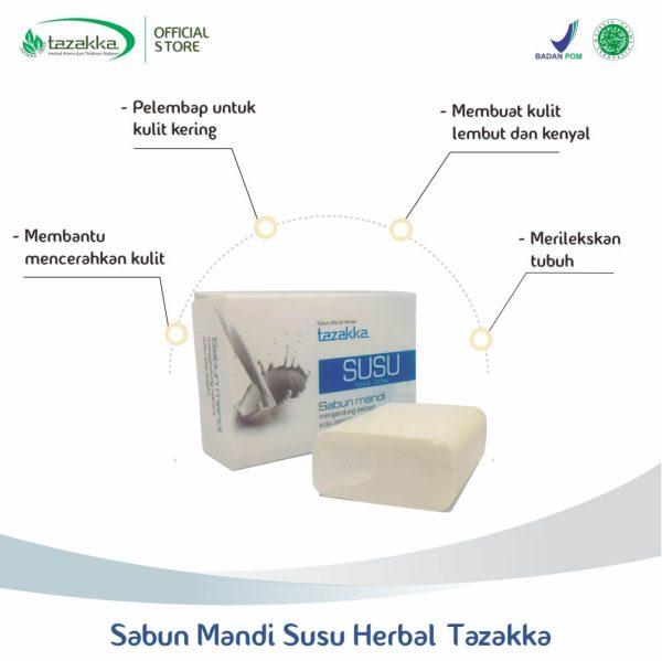 Manfaat sabun susu