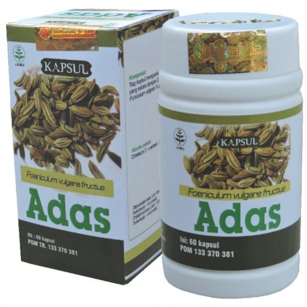 contoh foto gambar katalog produk hebral tazakka jawa tengah produk herbal tazakka herbal sukoharjo manfaat tanaman adas obat untuk kesehatan penyakit perut kembung dan gangguan lambung secara alami kemasan kapsul botol kemasan baru