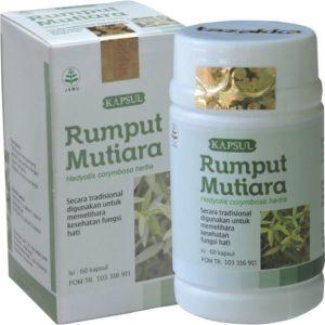 foto gambar produk herbal tazakka herbal sukoharjo manfaat tanaman rumput mutiara obat alami anti peradangan, amandel, tenggorokan kemasan kapsul botol