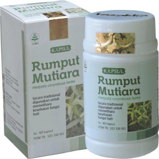 Obat Herbal Rumput Mutiara Tazakka Mengobati Radang Tengorokan