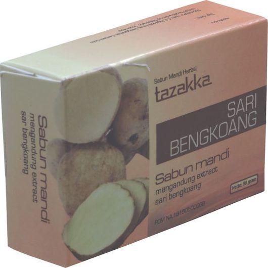 foto gambar produk herbal sabun mandi ekstrak bengkoag tazakka herbal sukoharjo.