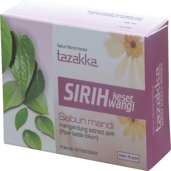 JUAL Sabun Mandi Herbal Sirih Keset Wangi Tazakka Sabun Untuk Kesehatan kewanitaan miss V ORIGINAL