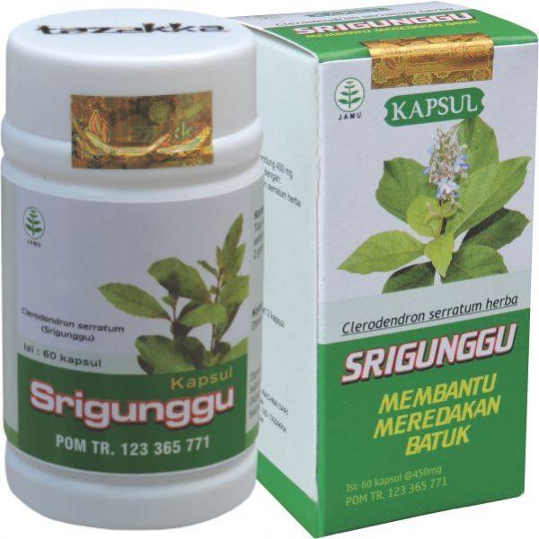 JUAL obat batuk berdahak kapsul Herbal Srigunggu Tazakka Original
