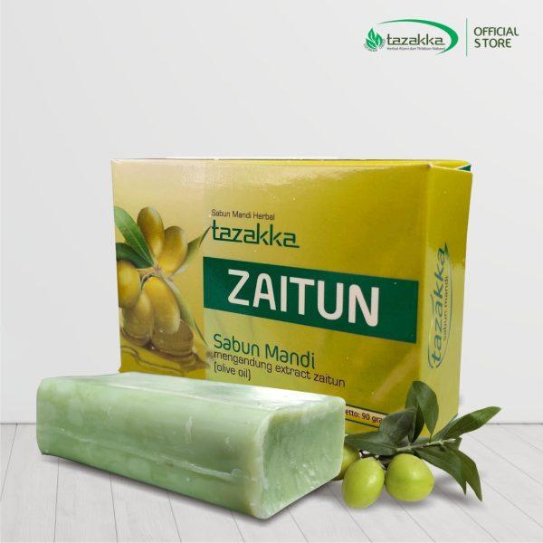 Sabun Mandi Zaitun Herbal Tazakka Original