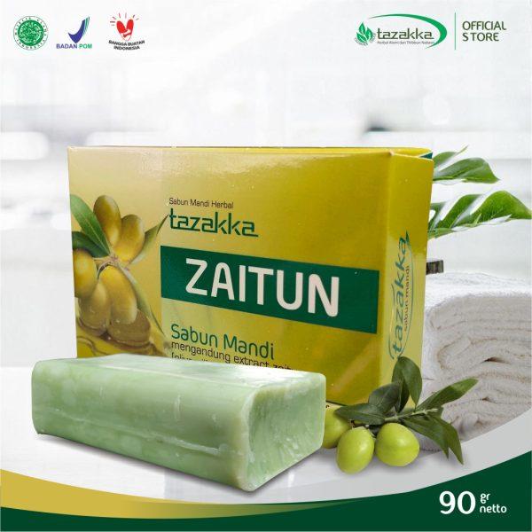 Sabun Mandi Zaitun Tazakka