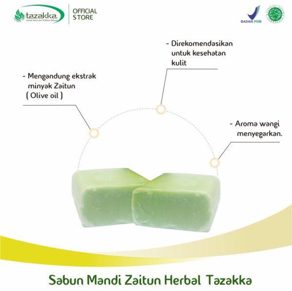 Sabun Zaitun batangan