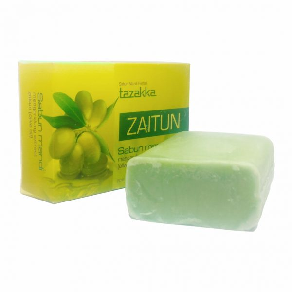 Sabun Zaitun Tazakka Original