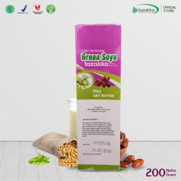 Susu Kedelai bubuk herbal Tazakka