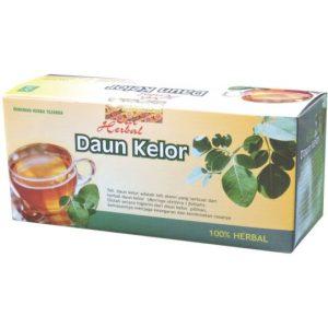 foto gambar produk herbal tazakka herbal sukoharjo manfaat daun kelor obat rematik kemasan teh celupl
