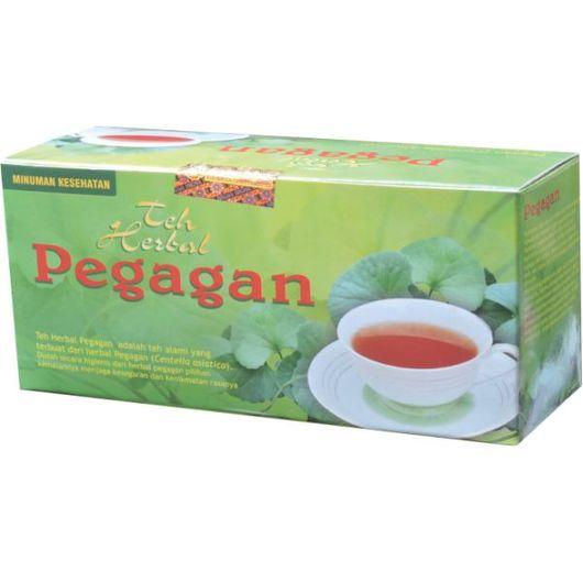 foto gambar produk herbal manfaat tanaman pegagan kemasan teh celup tazakka herbal sukoharjo untuk pendingin badan, mencegah kepikunan, dan meningkatkan daya ingat