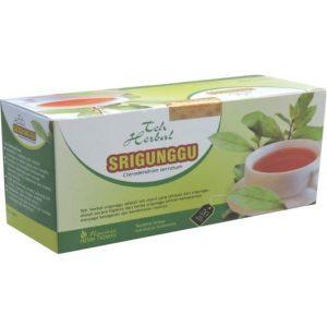foto gambar produk herbal sukoharjo tazakka srigunggu senggugu obat alami batuk flu gurah kemasan teh celup