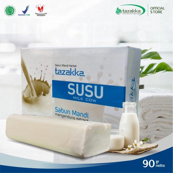 Tazakka Sabun Mandi Susu 90 gr