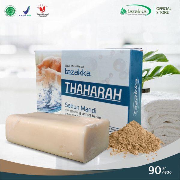 Tazakka Thaharah Sabun Mandi Herbal Batangan